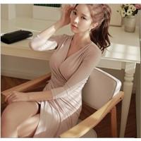 Đầm ôm thời trang cao cấp 2016 - E354-1