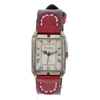 Đồng hồ nữ dây da tổng hợp vintage DH1104