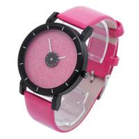 Đồng hồ nữ dây da tổng hợp DH1110 nhiều màu
