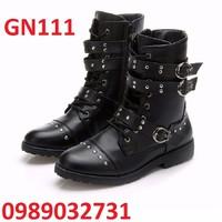 Giày Bốt Nam cao cấp NEW 2016 - GN111
