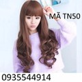 Tóc nữ xoăn đuôi Hàn QuốcTN50