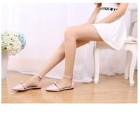 Giày bệt búp bê hồng