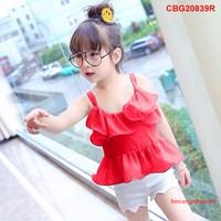 Bộ bé gái hai dây bèo cực yêu cho bé từ 1-8 tuổi _CBG20839