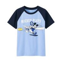 Áo Phông bé trai Mickey 61 Blue - Hàng Nhập Nhật