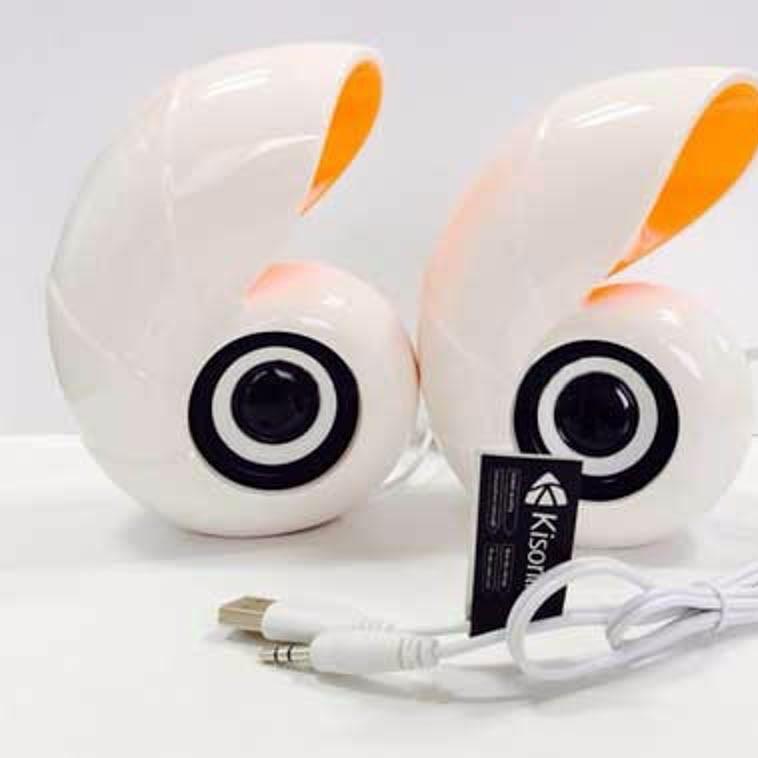 LOA 2.0 HÌNH CON ỐC E-16 XÀI CỔNG USB Chính Hãng
