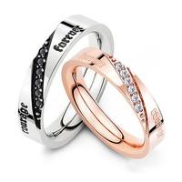 Nhẫn cặp tình nhân Courage Forever N226 siêu đẹp của Shop Muasamhot