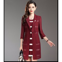 hàng nhập loại 1 : Set đầm len quý bà cao cấp - giảm giá mạnh hd9390