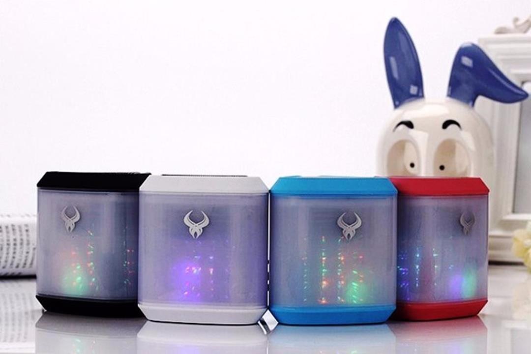 Loa bluetooth đèn Led tuyệt đẹp DS713