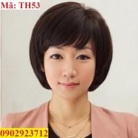 Tóc Giả Nữ Trung Niên Tặng Lưới - TH53