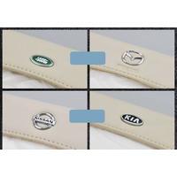 Hộp khăn giấy kẹp trần xe hơi - Logo Kia