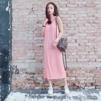 Đầm maxi form suông rộng cực đẹp Tunic Dress