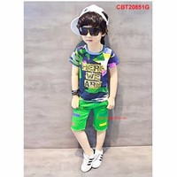 Bộ bé trai phun sơn cực yêu cho bé từ 1-8 tuổi _CBT20851