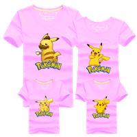 Áo gia đình Pokemon Pikachu