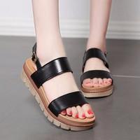 Giày Sandal nữ dễ thương thời trang phong cách Hàn Quốc - SG0308