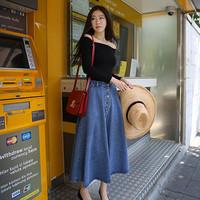 Váy maxi Jean VD01