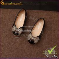 Hàng nhập – Giày búp bê bé gái thắt nơ 1-12 tuổi GLG011