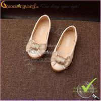 Hàng nhập – Giày búp bê bé gái thắt nơ 1-12 tuổi GLG004