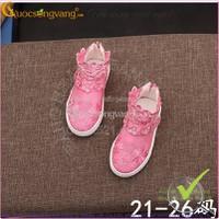 Hàng nhập – Giày bé gái thể thao thêu ren 1-5 tuổi GLG013