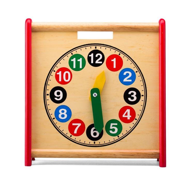 Đồng hồ học đếm 2 mặt Alengkeng MT6