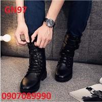 Giày bốt nam Hàn Quốc - GN97