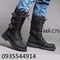 Giày bốt cao cấp Hàn Quốc C75