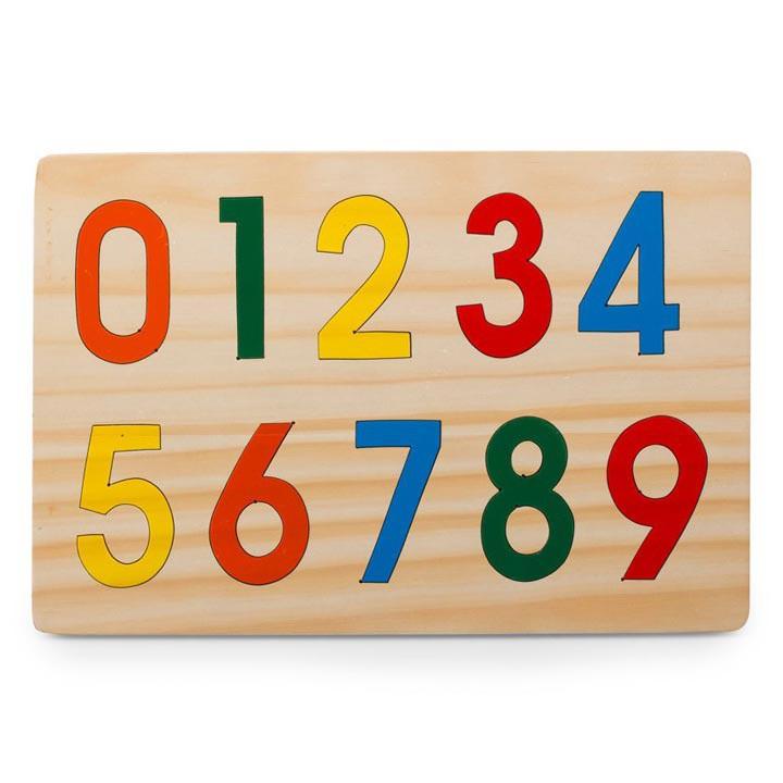 Bảng số từ 0 đến 9 Alengkeng MT13