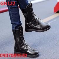 Giày bốt nam cao cấp Hàn Quốc - GN122