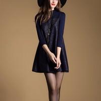 THỜI TRANG CAO CẤP- Đầm Suông Cao Cấp A160629