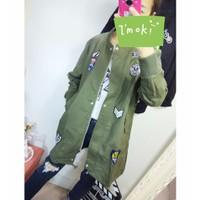 áo khoác military logo marine Mã: AO2573