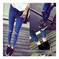Quần jeans skinny rách gối Mã: QD992