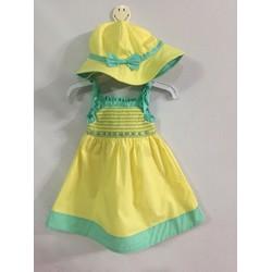 Đầm xoè tặng kèm nón 10-20kg