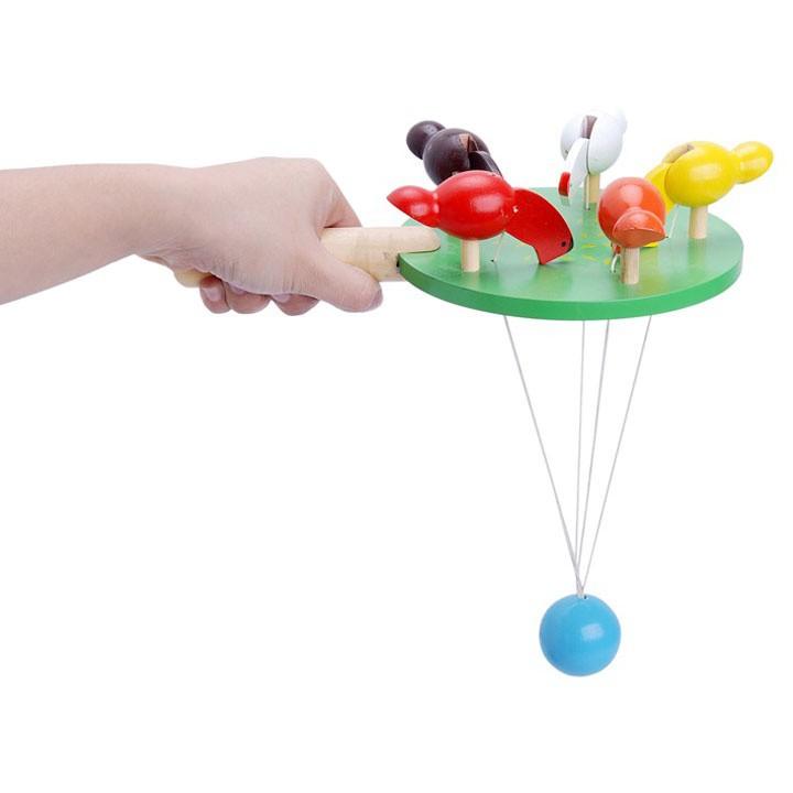 Đồ chơi đàn gà mổ thóc Alengkeng MT33