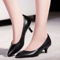 Giày cao gót bít mũi gót 5 phân - LN635