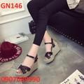 Giày đế xuồng nữ siêu HOT 2016 - GN146