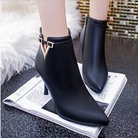Giày bốt nữ da mềm cao cấp