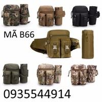 Túi đeo hông cao cấp phong cách quân đội B66