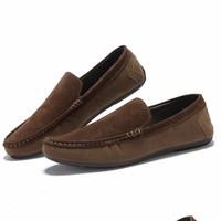Giày mọi nam da lộn -GD70