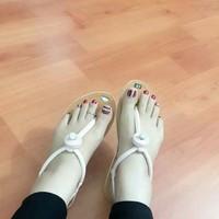 Giày sandal kẹp xinh