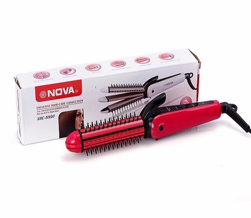 Lược điện tạo kiểu tóc 3 in 1 Nova 8890