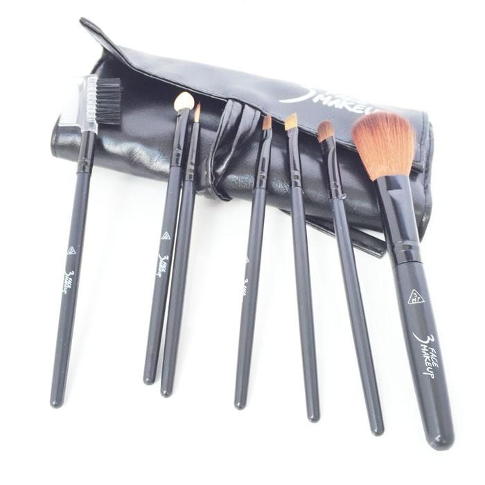 Bộ cọ trang điểm cá nhân 7 cây 3 Face makeup