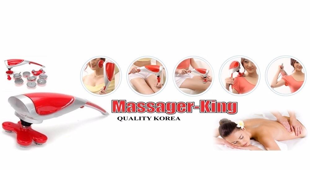 Máy massage cầm tay 10 đầu King Massager