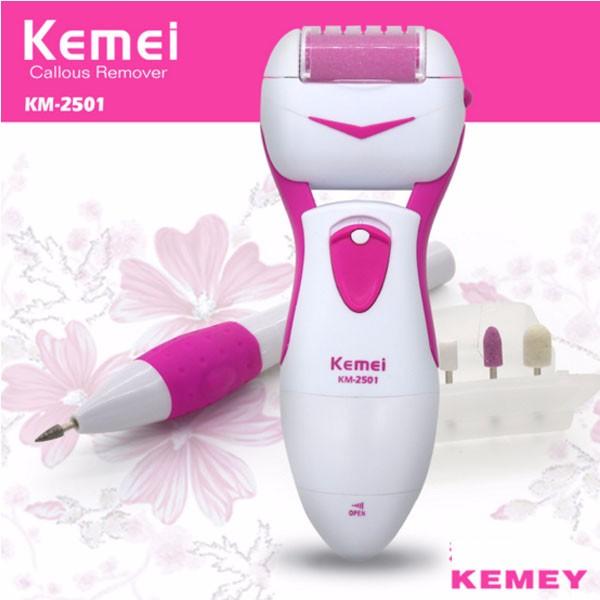 Máy tẩy tế bào gót chân và tỉa móng chân Kemei KM-2501