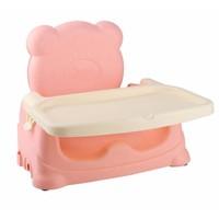 Ghế ngồi ăn cho bé Teddy - hồng