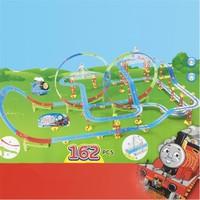 Bộ đồ chơi đường ray trượt xe lửa có nhạc, có đèn cho bé cỡ lớn