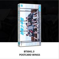 Postcard bts album wings có 121 thứ