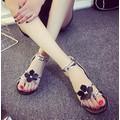 giày sandal nữ phối hoa cực đẹp