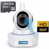 Camera IP Yoosee 1.3mpx + Thẻ nhớ 32G Hãng