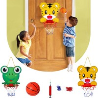 Bộ đồ chơi bóng rổ trong nhà hoặc sân tăng chiều cao cho bé