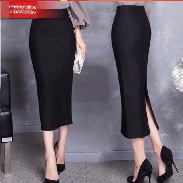 Chân váy bút chì dài cao cấp cv51