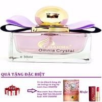 Nước Hoa Nữ Charme Omnia Crystal + Tặng Kèm Son Charme